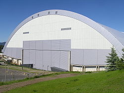 Kibbie Dome at U of I